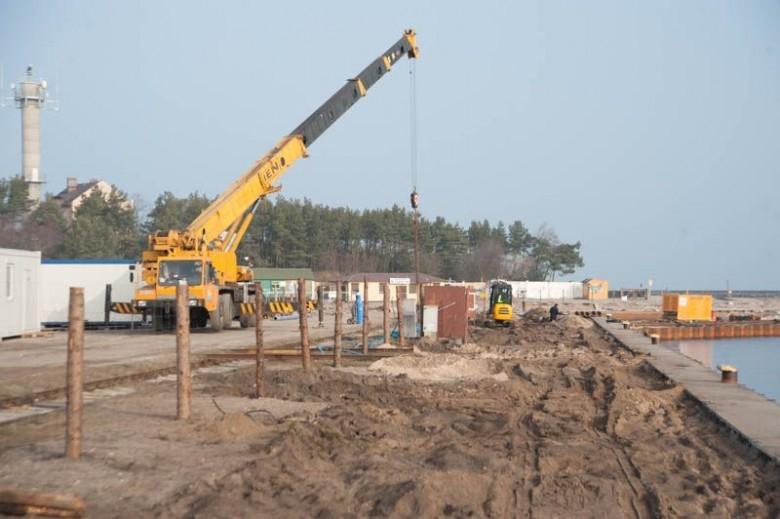Zakończono budowę basenu rybackiego w Ustce - GospodarkaMorska.pl