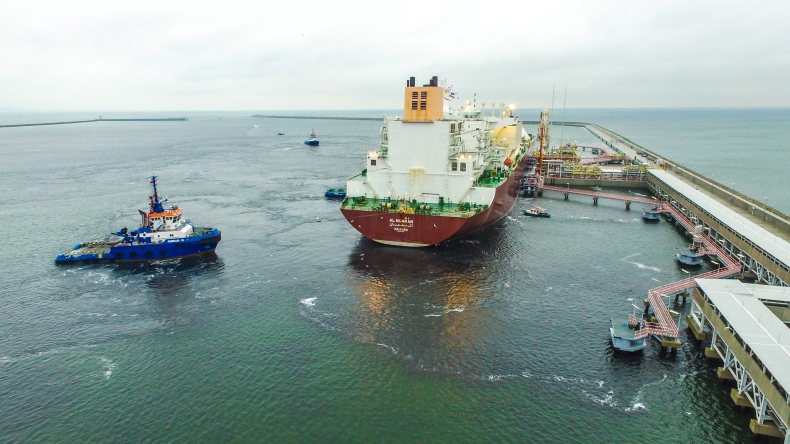 Pierwsza dostawa LNG z Kataru dotarła do Polski - GospodarkaMorska.pl