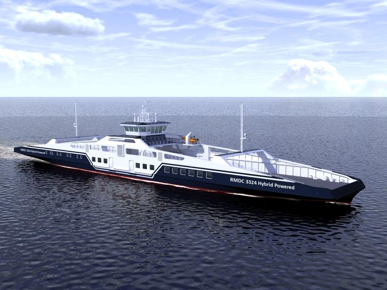 Nowatorski projekt promu pasażersko-samochodowego z napędem hybrydowym od Remontowej Marine Design & Consulting - GospodarkaMorska.pl