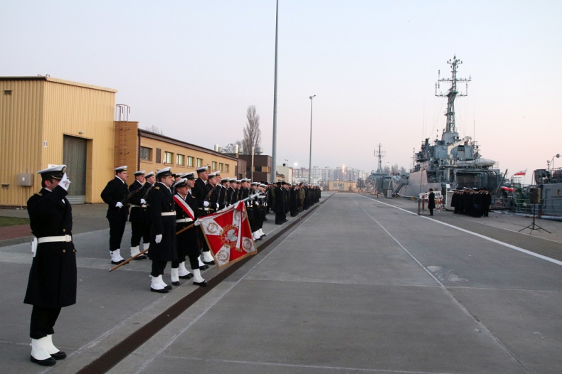 Inauguracja roku  jednostek flotylli - GospodarkaMorska.pl