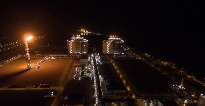 Rozpoczął się testowy odbiór gazu ziemnego z terminalu LNG - GospodarkaMorska.pl