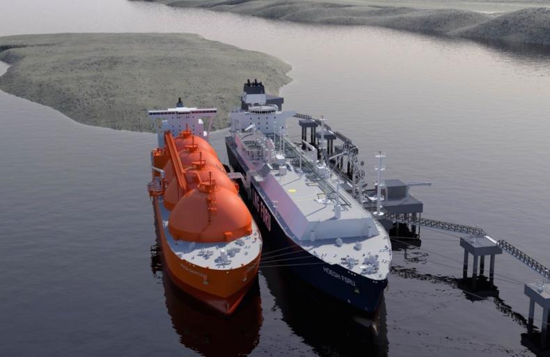 Pływający terminal LNG także na Pomorzu? Są pierwsze plany - GospodarkaMorska.pl