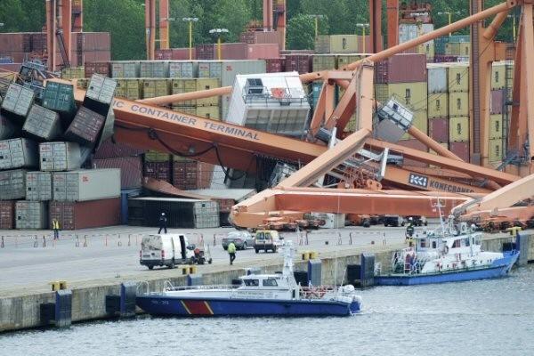 Sąd prawdopodobnie zawiesi proces kapitana oskarżonego o wypadek w BCT - GospodarkaMorska.pl
