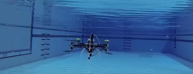 Ten dron może latać i pływać pod wodą. To pierwszy taki model na świecie (WIDEO) - GospodarkaMorska.pl