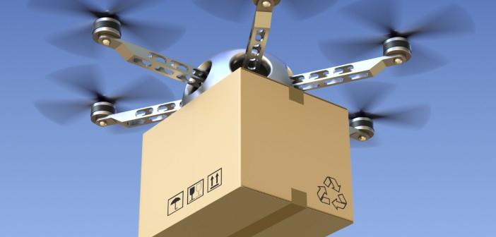 Pierwsza dostawa przesyłki na tankowiec za pomocą drona - GospodarkaMorska.pl