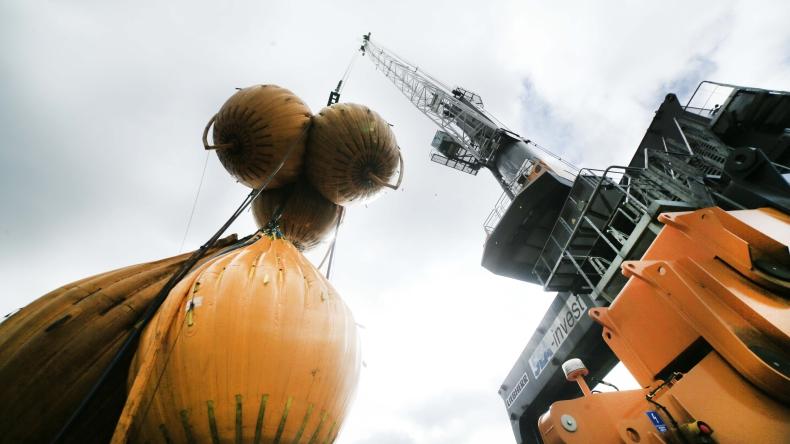 W Porcie Północnym testowano dźwigi przy pomocy worków z wodą (WIDEO) - GospodarkaMorska.pl