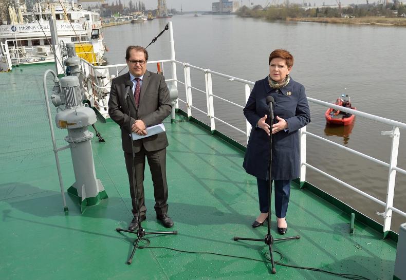Szydło: Przemysł stoczniowy powinien być fundamentem gospodarki - GospodarkaMorska.pl