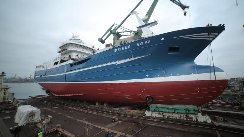 Dwa nowe trawlery powstaną w Stoczni Nauta - GospodarkaMorska.pl