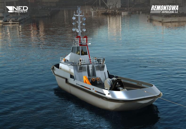 Najnowsze dziecko NED Project - nowoczesny holownik dla  Marynarki Wojennej, który wybuduje Remontowa - GospodarkaMorska.pl