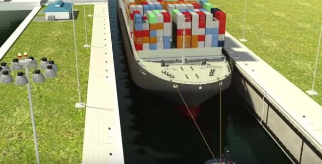 Tak będzie wyglądała przeprawa przez nowy Kanał Panamski (wideo) - GospodarkaMorska.pl