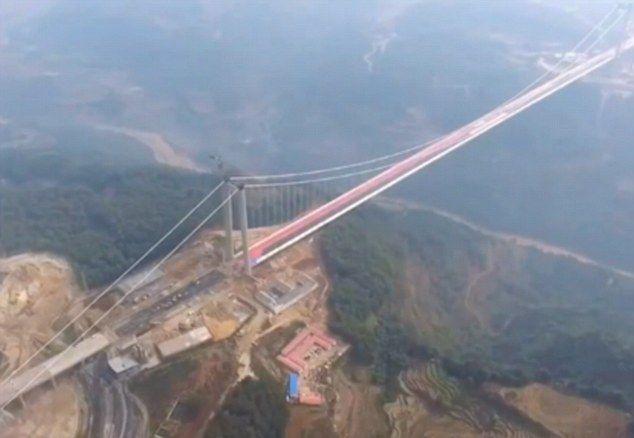 Najdłuższy i najwyższy most w Azji. Fantastyczne wideo - GospodarkaMorska.pl