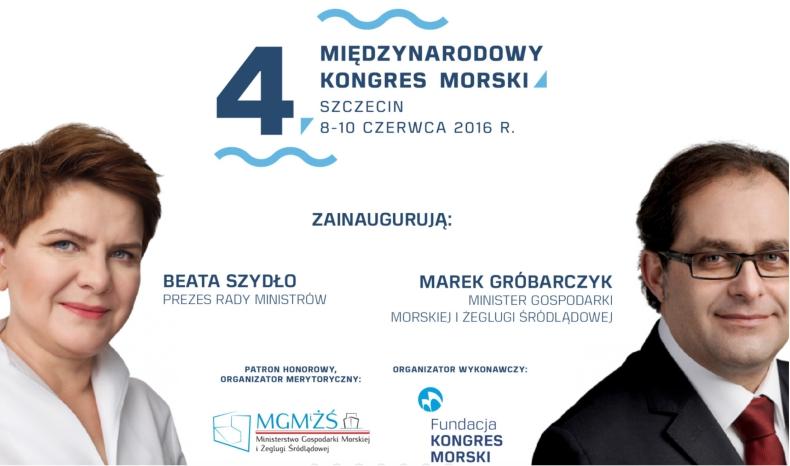 Już za tydzień rozpoczyna się 4. Międzynarodowy Kongres Morski w Szczecinie - GospodarkaMorska.pl