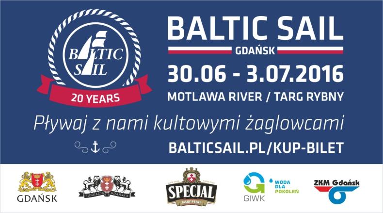 Baltic Sail Gdańsk – zobacz Gdańsk od strony wody i pływaj z nami kultowymi żaglowcami - GospodarkaMorska.pl