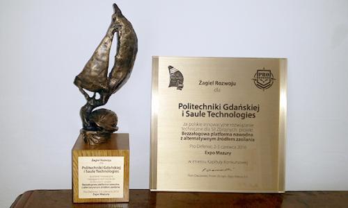 Politechnika Gdańska nagrodzona za innowacje dla Sił Zbrojnych RP - GospodarkaMorska.pl