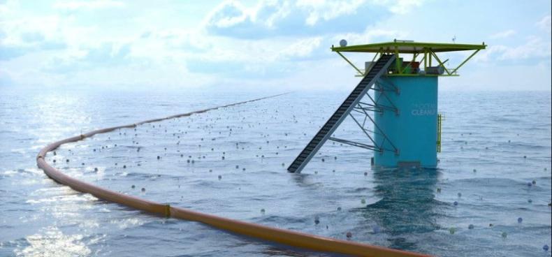 Boskalis instaluje pierwszy prototypu nowoczesnego system do oczyszczania oceanów z plastiku (wideo) - GospodarkaMorska.pl