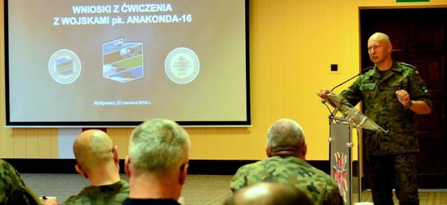 Pierwsze wnioski po ćwiczeniu z wojskami Anakonda-16 - GospodarkaMorska.pl