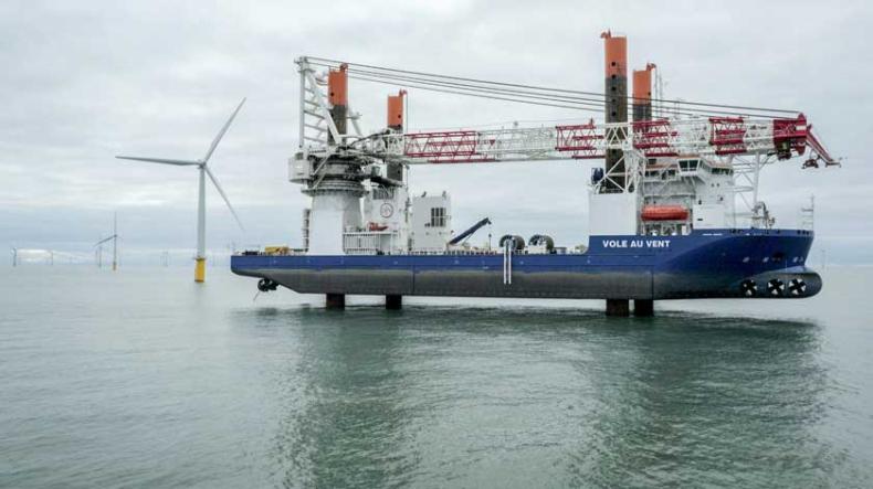 Wybudowany w Polsce jack-up zainstaluje turbiny na eksperymentalnej farmie wiatrowej - GospodarkaMorska.pl