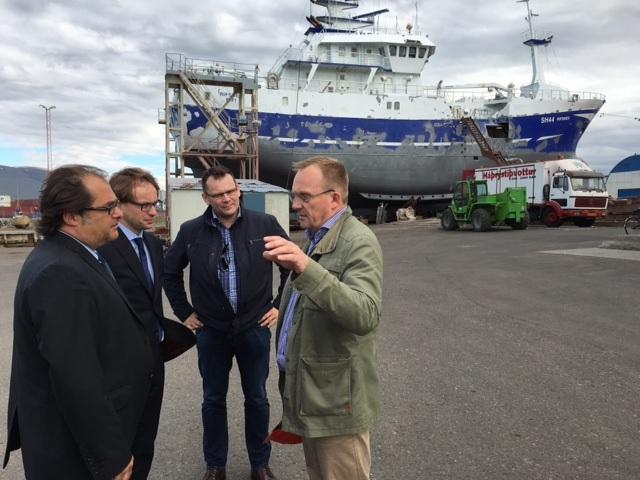 Szefowie resortu zakończyli oficjalną wizytę w Republice Islandii - GospodarkaMorska.pl