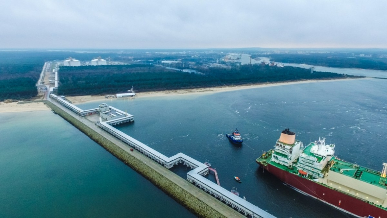 Ponad milion metrów sześciennych gazu przyjął terminal LNG - GospodarkaMorska.pl