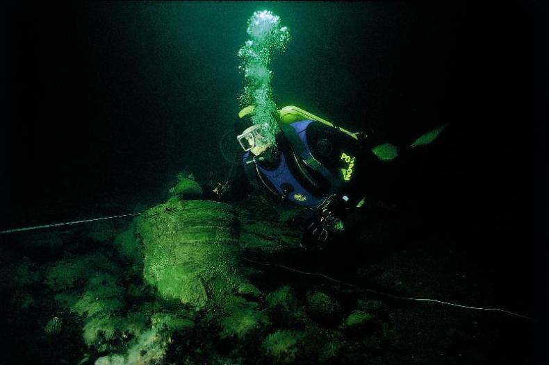 340-letni ser znaleziony we wraku okrętu na Bałtyku - GospodarkaMorska.pl