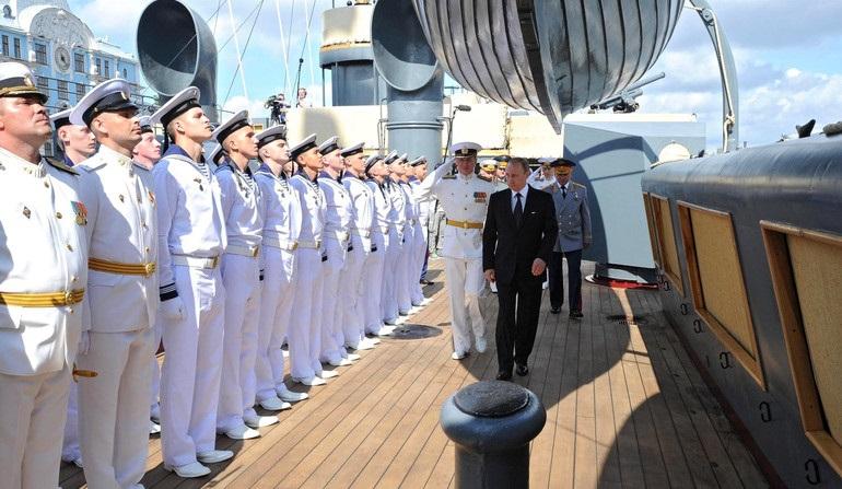 Rosja świętuje 320 rocznicę powstania sił morskich - GospodarkaMorska.pl