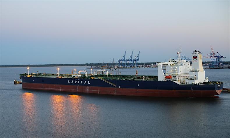 Do Gdańska przybyły tankowce z ropą z Iranu, trwa rozładunek [FOTO] - GospodarkaMorska.pl