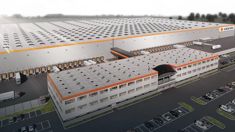 Nawet 1000 miejsc pracy w centrum logistycznym Zalando pod Szczecinem - GospodarkaMorska.pl