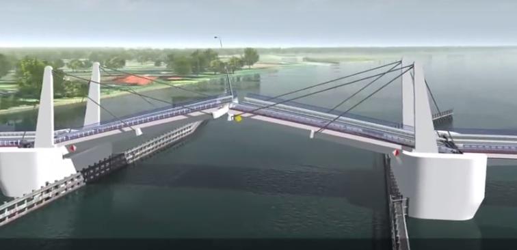 Otwarcie ofert sześciu firm na budowę mostu na Wyspę Sobieszewską w Gdańsku - GospodarkaMorska.pl