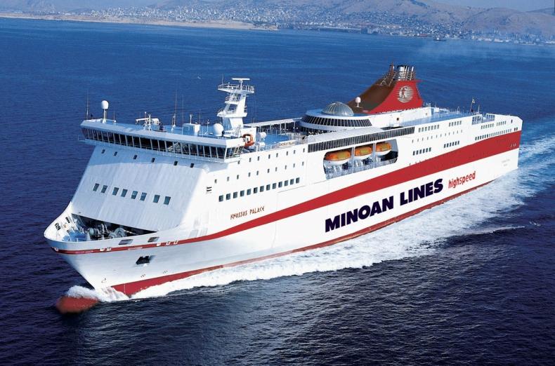 Rekordowe półrocze Minoan Lines - GospodarkaMorska.pl