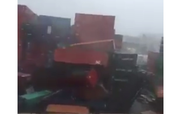 Z naturą nie ma żartów. Kompletna demolka (wideo) - GospodarkaMorska.pl