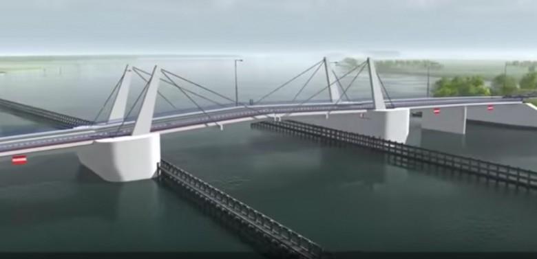 Rozpoczęła się budowa mostu na Wyspę Sobieszewską - GospodarkaMorska.pl