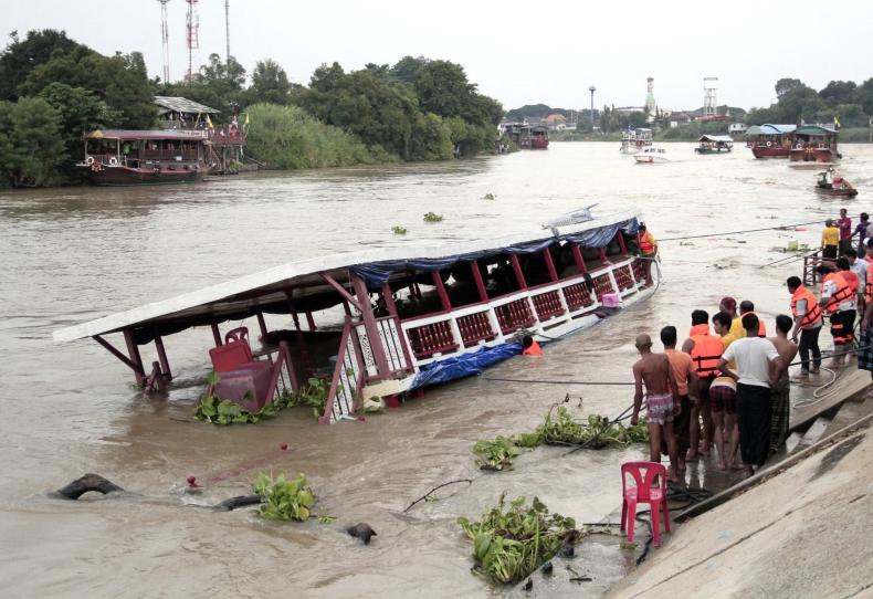 Katastrofa łodzi na rzece, kilkanaście ofiar śmiertelnych (wideo) - GospodarkaMorska.pl