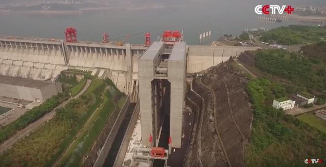 Otwarto największą na świecie windę dla statków (wideo) - GospodarkaMorska.pl