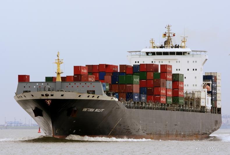 Rekord w wieku zezłomowanego kontenerowca. Wybudowana w Polsce jednostka miała zaledwie 10 lat - GospodarkaMorska.pl