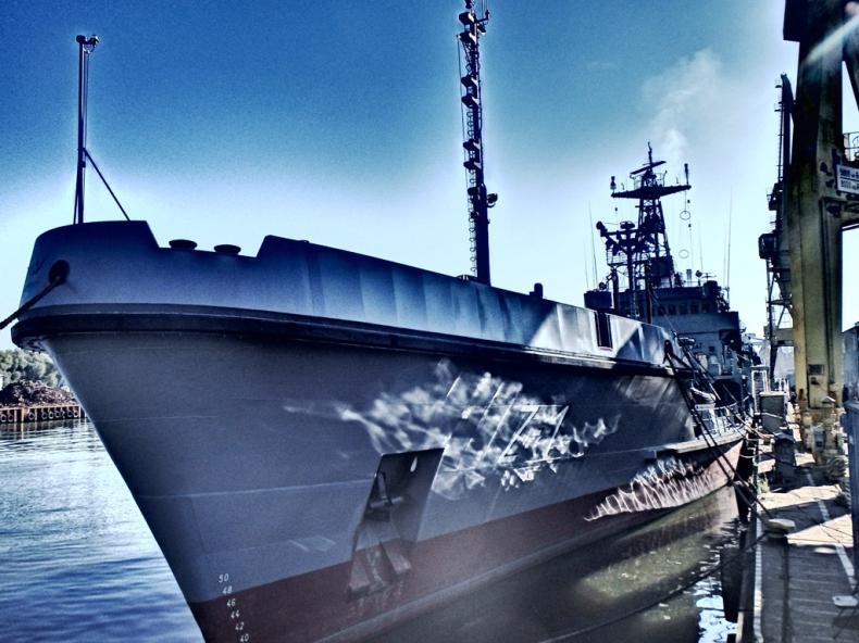 """Zmodernizowany ORP """"Bałtyk"""" wrócił do służby. Jest jak nowy - GospodarkaMorska.pl"""