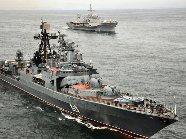 Rosyjskie okręty rakietowe płyną z Morza Czarnego w kierunku Syrii - GospodarkaMorska.pl