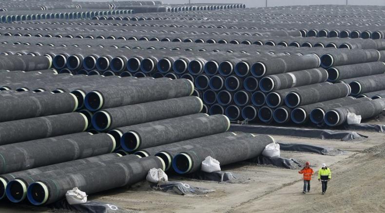 Gazprom dostarczy w październiku pierwsze rury do Nord Stream 2 - GospodarkaMorska.pl