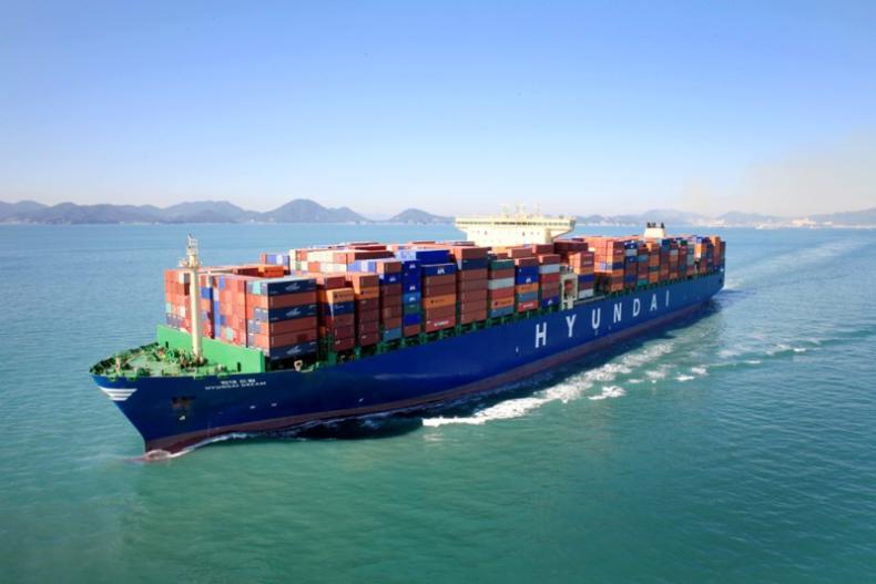Hyundai Merchant Marine chce przejąć udziały Hanjin na szlaku Azja - USA - GospodarkaMorska.pl