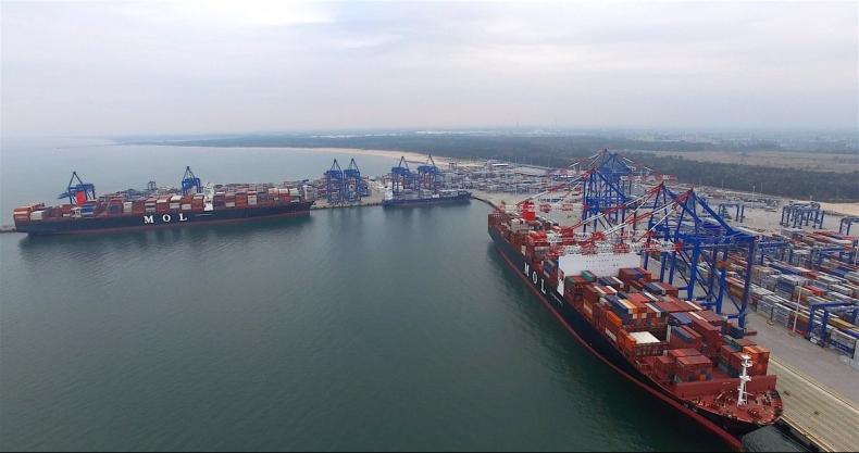 Otwarcie drugiego nabrzeża (T2) terminalu kontenerowego DCT w Gdańsku już dziś (24.10) - GospodarkaMorska.pl