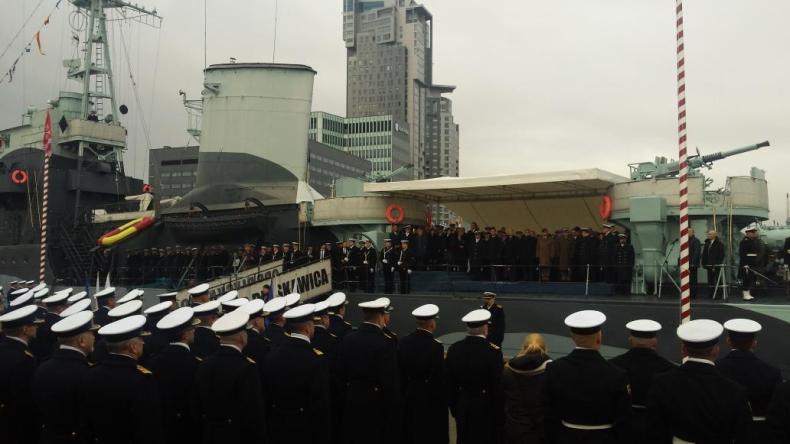 Prezydent na obchodach 98. rocznicy odtworzenia Marynarki Wojennej - GospodarkaMorska.pl