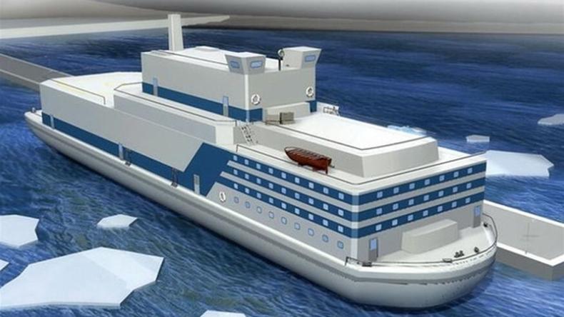 Chiny rozpoczęły budowę pierwszej pływającej elektrowni jądrowej - GospodarkaMorska.pl