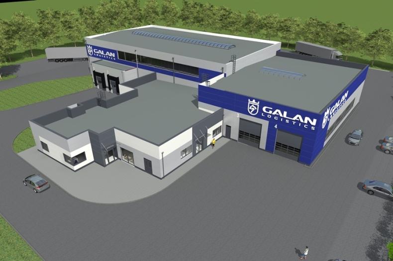 Nowa hala Galan Logistics - GospodarkaMorska.pl