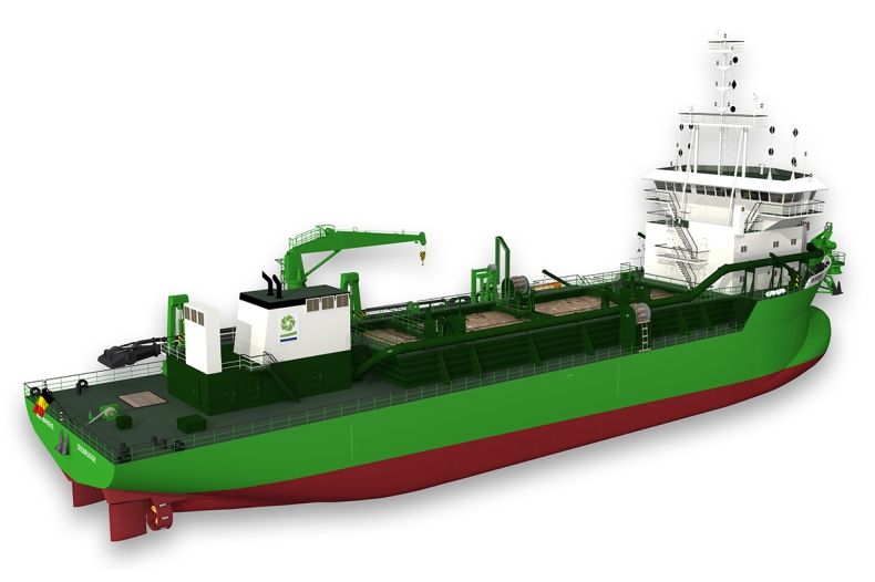 Pierwsze na świecie pogłębiarki napędzane LNG - GospodarkaMorska.pl