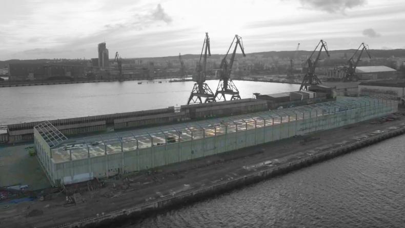Zobacz, jak zmienia się gdyński port - niebawem kolejne obiekty zostaną oddane do użytku [wideo] - GospodarkaMorska.pl