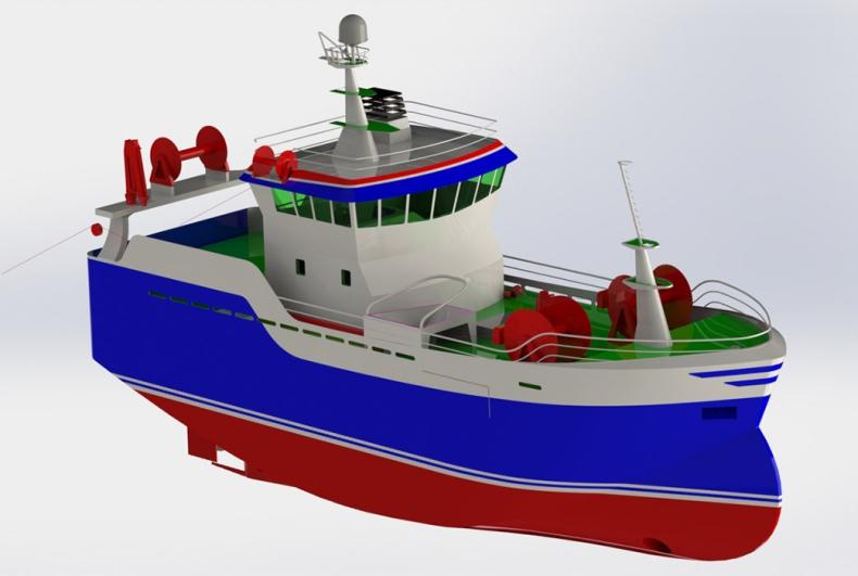 Szczecińska stocznia zbuduje kadłub statku rybackiego dla islandzkiego armatora - GospodarkaMorska.pl
