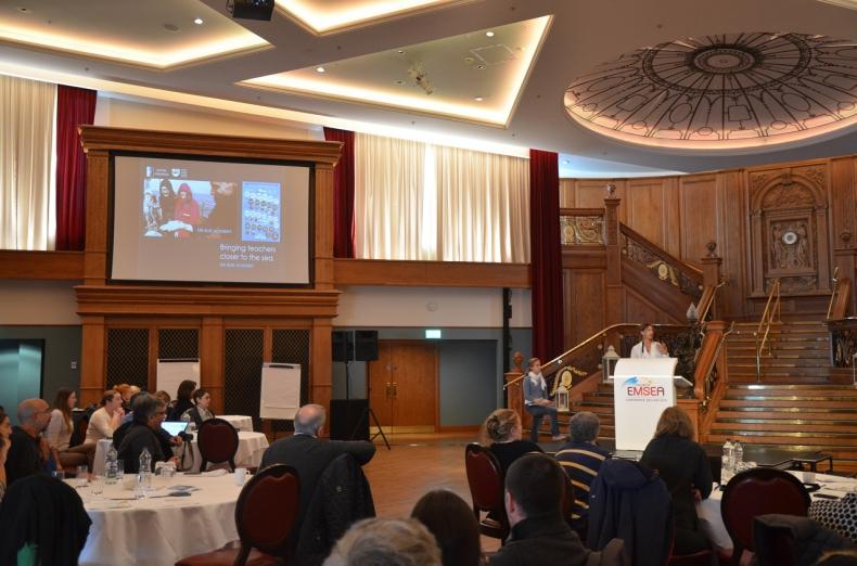 Akwarium Gdyńskie głównym propagatorem idei OCEAN LITERACY w Polsce. Konferencja European Marine Educators Association (EMSEA) Belfast 2016 - GospodarkaMorska.pl