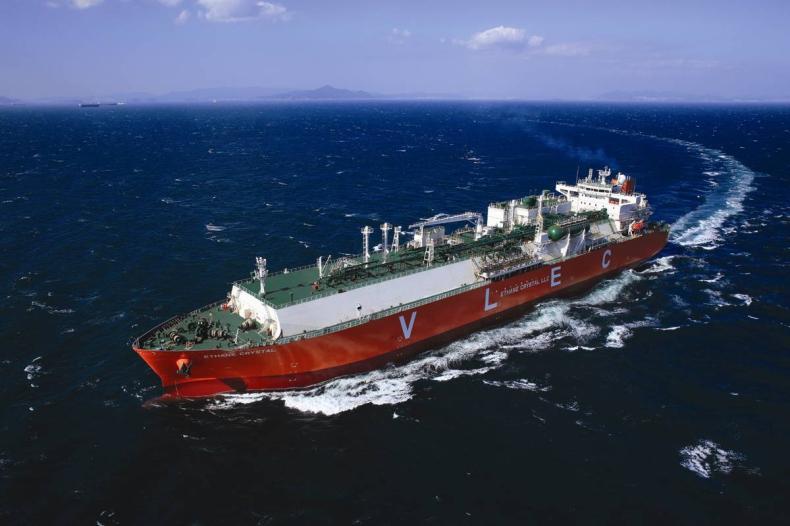 Najważniejsze statki 2016 roku: Ethane Crystal - GospodarkaMorska.pl