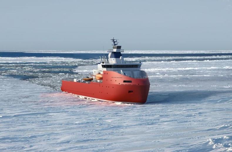 Polarny statek produkcji CRIST przewiezie ładunki między Antarktydą a Tasmanią - GospodarkaMorska.pl