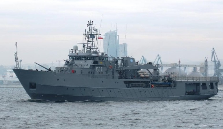 ORP Kontradmirał Xawery Czernicki rozpoczął służbę w ramach Sił Odpowiedzi NATO - GospodarkaMorska.pl