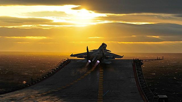 Rosja zamierza wycofać z Morza Śródziemnego lotniskowiec i krążownik atomowy - GospodarkaMorska.pl